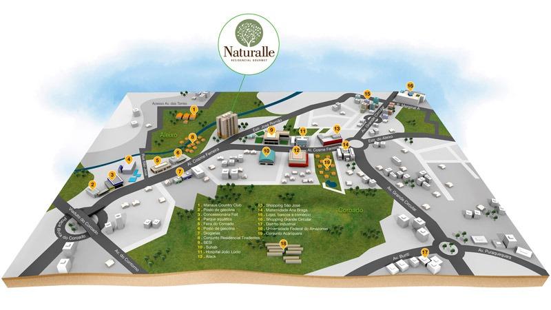 mapa 3d Mapa 3D Privileggio • Zói Estúdio Comunicação mapa 3d