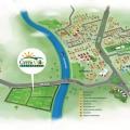 Mapas ilustrados Empreendimentos Casa e Terra